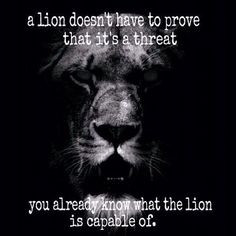 Lion Strong Quotes