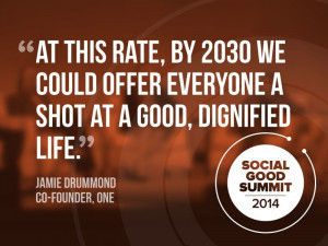 Inspiring Quotes From Social Good Summit 2014