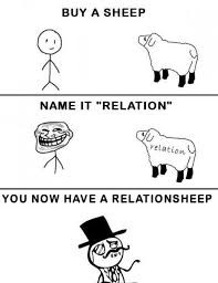 How to have a RELATIONSHEEP.