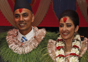 Manisha married two years back and settled down in Nepal.