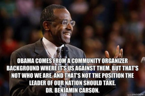 quote by Dr. Benjamin Carson, support Dr. Carson all the way, smart ...
