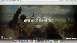 ... PM Journey To The Wizard In Oz The Great & Powerful Chrome Experiment