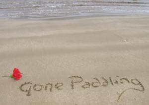Gone paddling