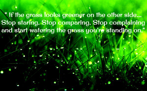 Grass quotes green thoughts words life