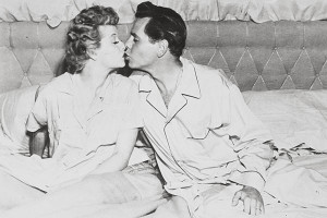 Lucy and Desi Arnaz become Lucy and Ricky Ricardo