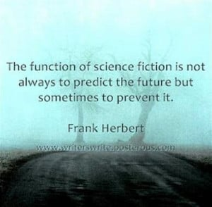 Frank Herbert on science fiction