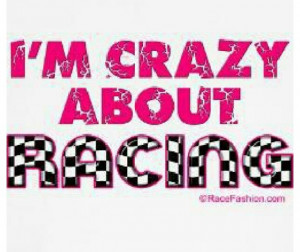 Yes I am dirt track racing!