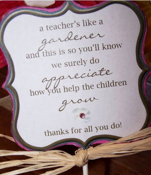Teacher Appreciation Week Gifts and Ideas