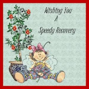 2010 8:20:16 AM Please Wish Sorprano a Speedy recovery