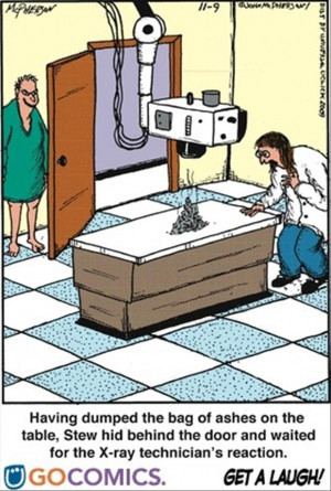 funny pranks, x ray technition