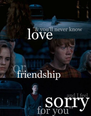 What does the Harry Potter series teach us about love?
