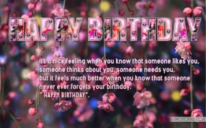 Happy Birthday Wallpaper With Quotes