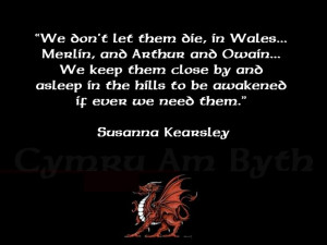 We don't let them die, in Wales quote