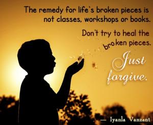 Iyanla Vanzant Quote on Forgiveness