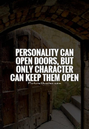 Quotes About Open Doors Quotesgram