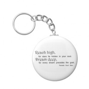 Inspirational quote keychain unique gift ideas