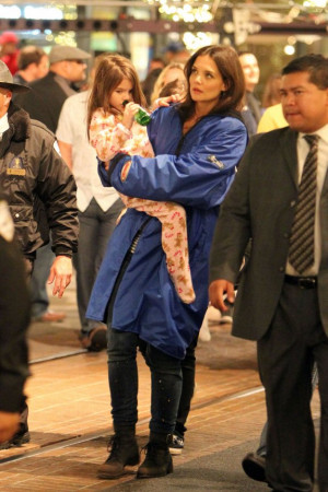 ... Suri @ LA set of her Movie Jack and Jill - Dec 13th+ Tom Cruise added
