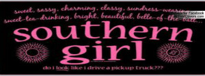 southern belle Profile Facebook Covers