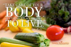 ... quote #SimpleReminders #health #food #vegetables #vegan #vegetarian