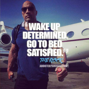 Dwayne Johnson Quote The Rock Motivation
