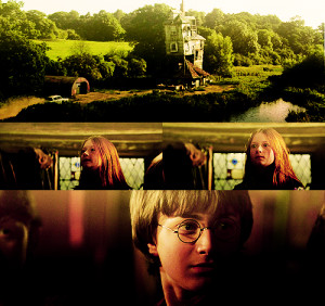 "Ginny: ""Mommy, have you seen my jumper?""Mrs. Weasley: ""Yes dear ..."