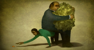 The vicious cycle of economic inequality