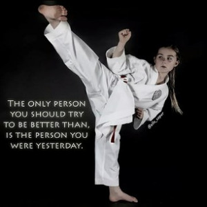 Karate Girl Quotes Girl Martial Arts Quotes