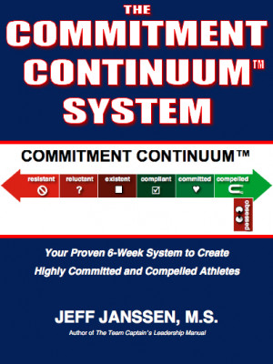 Concerned about your athletes' lack of commitment?