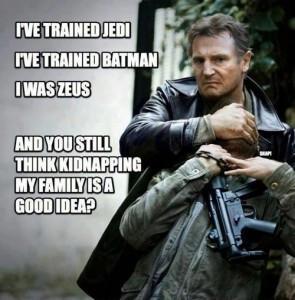Taken 2 – Fun action movie starring Liam Neeson!