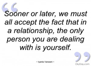sooner or later iyanla vanzant