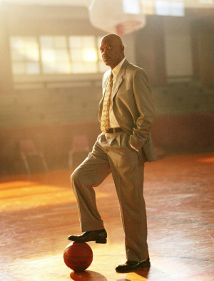 How's that for backlighting: Samuel L Jackson in Coach Carter