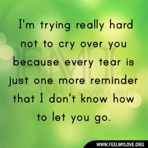 Hard Pretend You Love Someone