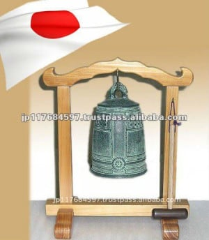 Small Buddhist temple bell