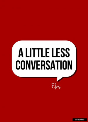 Elvis Presley - A Little Less Conversation - 1968 Writers: Mac Davis ...