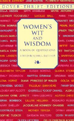 """... """"Women's Wit and Wisdom: A Book of Quotations"""" as Want to Read"""