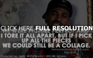 rapper, big sean, quotes, sayings, good, music
