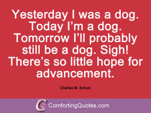 Charles M. Schulz Quotes And Sayings