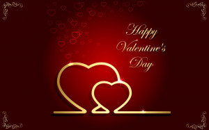 Beautiful Valentines Day Quotes with Hearts Picture Image Photo Card ...