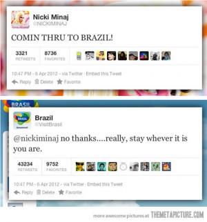 Nicki Minaj Funny Quotes