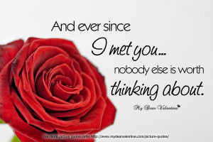 thinking of you quotes and ever since i met you Thinking Of You Quotes ...