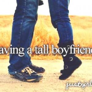 Tall Boyfriend