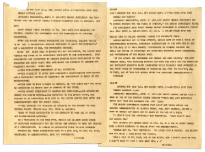 1964 Teletype Regarding the Warren Commission and Lee Harvey Oswald
