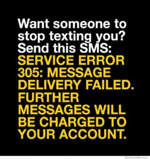 Want someone to stop texting you? Here's how you do it…