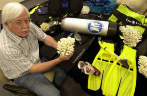Experts tracking coral reef killers