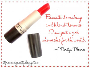 revlon+matte+lipstick+beauty+quates+makeup+quotes+marilyn+manroe ...