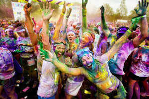 The Color Run, also known as the Happiest 5k on the Planet, is a ...