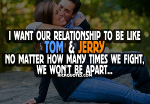 Relationship Quotes | We Won't Be Apart Relationship Quotes | We Won't ...