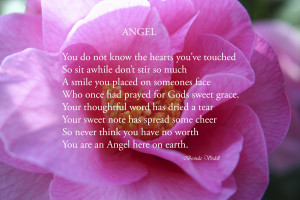... Face Who Once Had Prayed For Gods Sweet Grace… ~ Angel Quotes