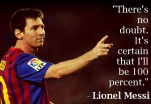 Famous Soccer Quotes Messi are Motivating | My Love Story