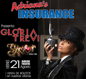 Gloria Trevi Concert Tickets